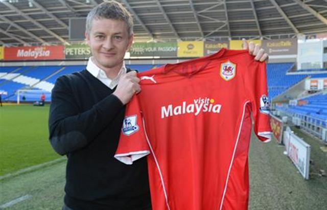 Ole Gunnar Solskjaer Becomes New Cardiff Boss