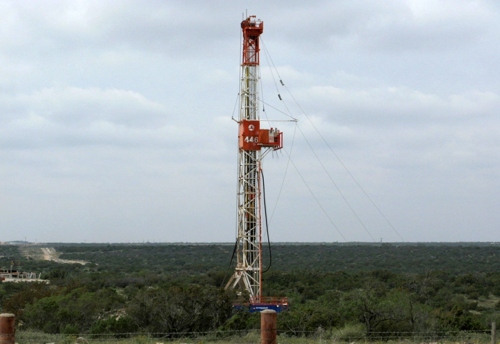 Oil Rig Irion County US