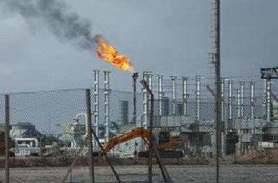 A view of the Mellitah oil and gas complex (Reuters)