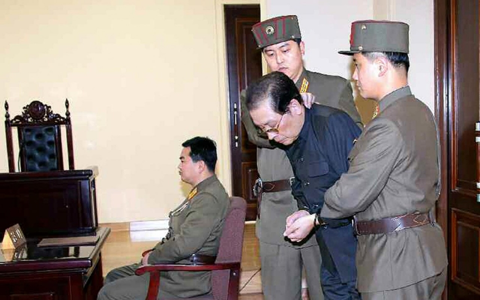 Kim Jong-un's uncle was arrested and executed last year