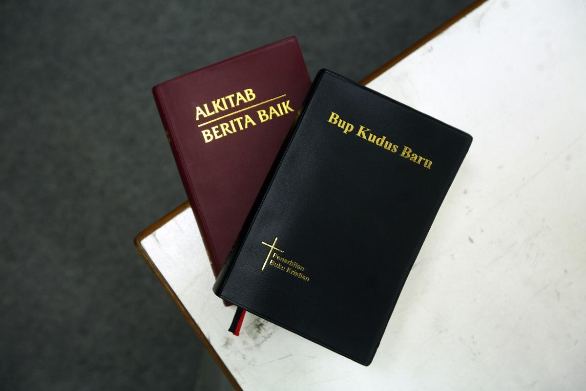 Bahasa and Iban language Bibles