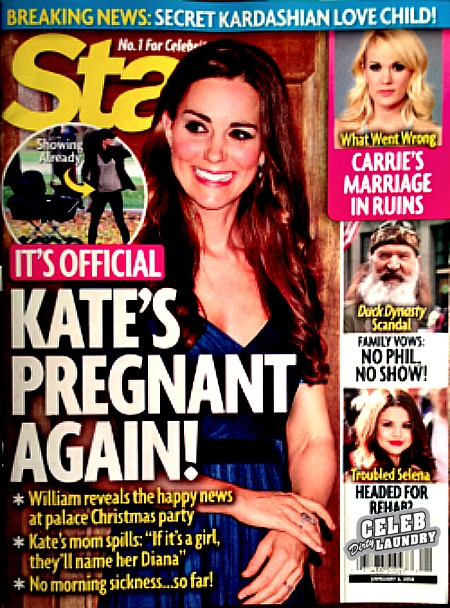 Star Magazine's lastest issue's cover page