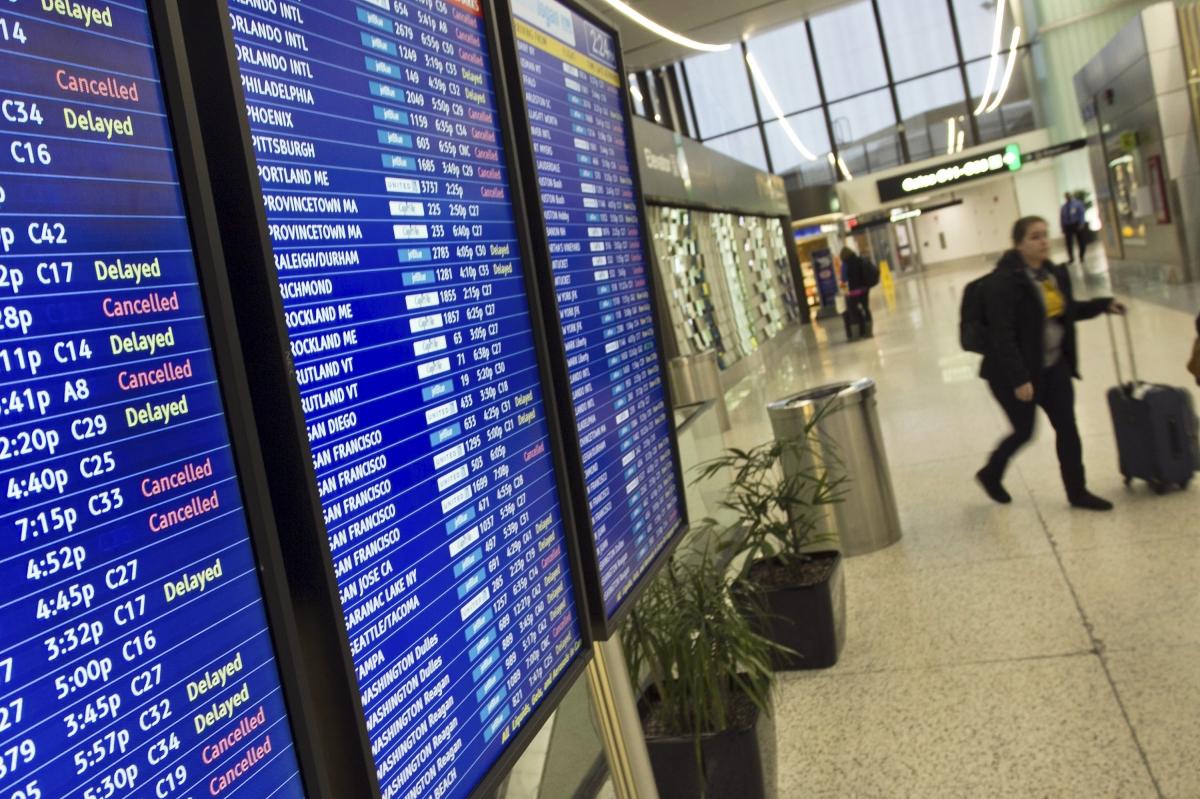 Boston's Logan International Airport