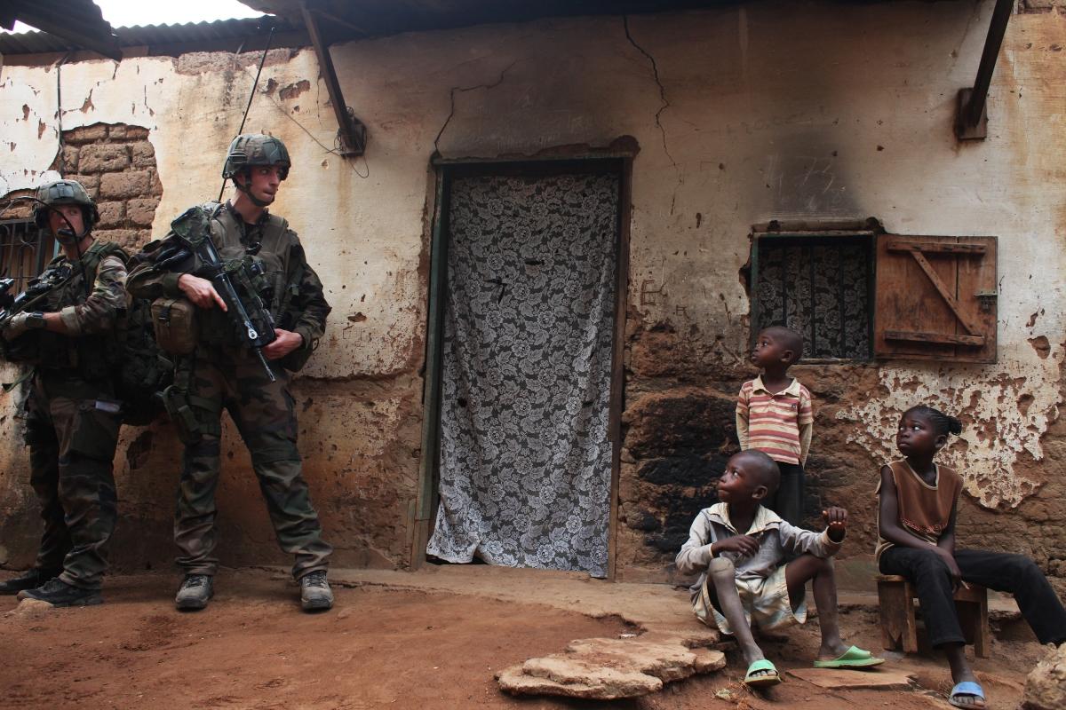 Bangui fighting