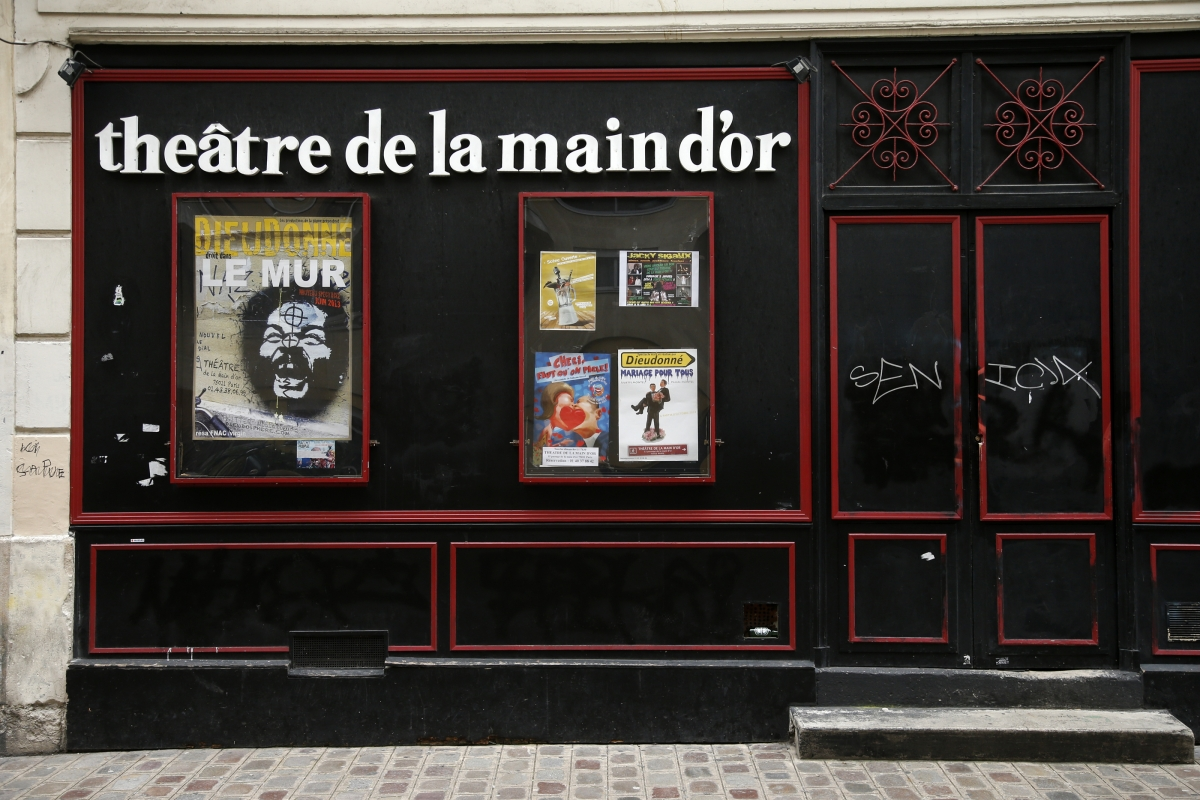 Dieudonné La Main d'or Paris