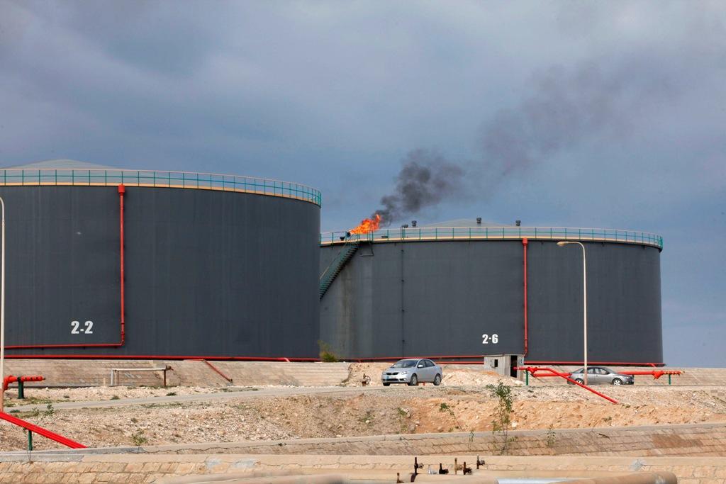 Oil Refinery Zawiya Libya