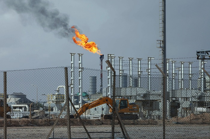 The Mellitah Oil and Gas complex, located 100km (60 miles) west of Tripoli.