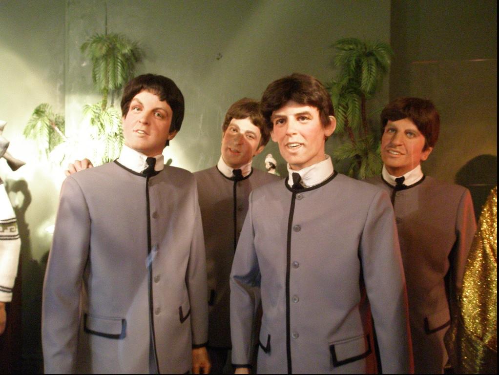 The Beatles in wax