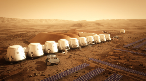 A Martian colony by 2024?