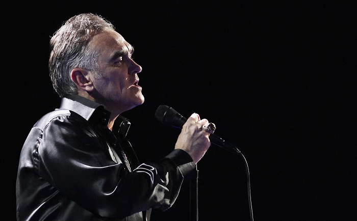 Singer Morrissey is known for his outspoken animal activism and controversial statements.