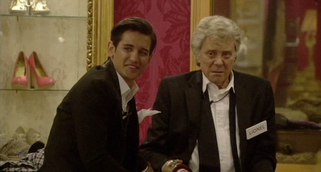 Ollie Locke and Lionel Blair