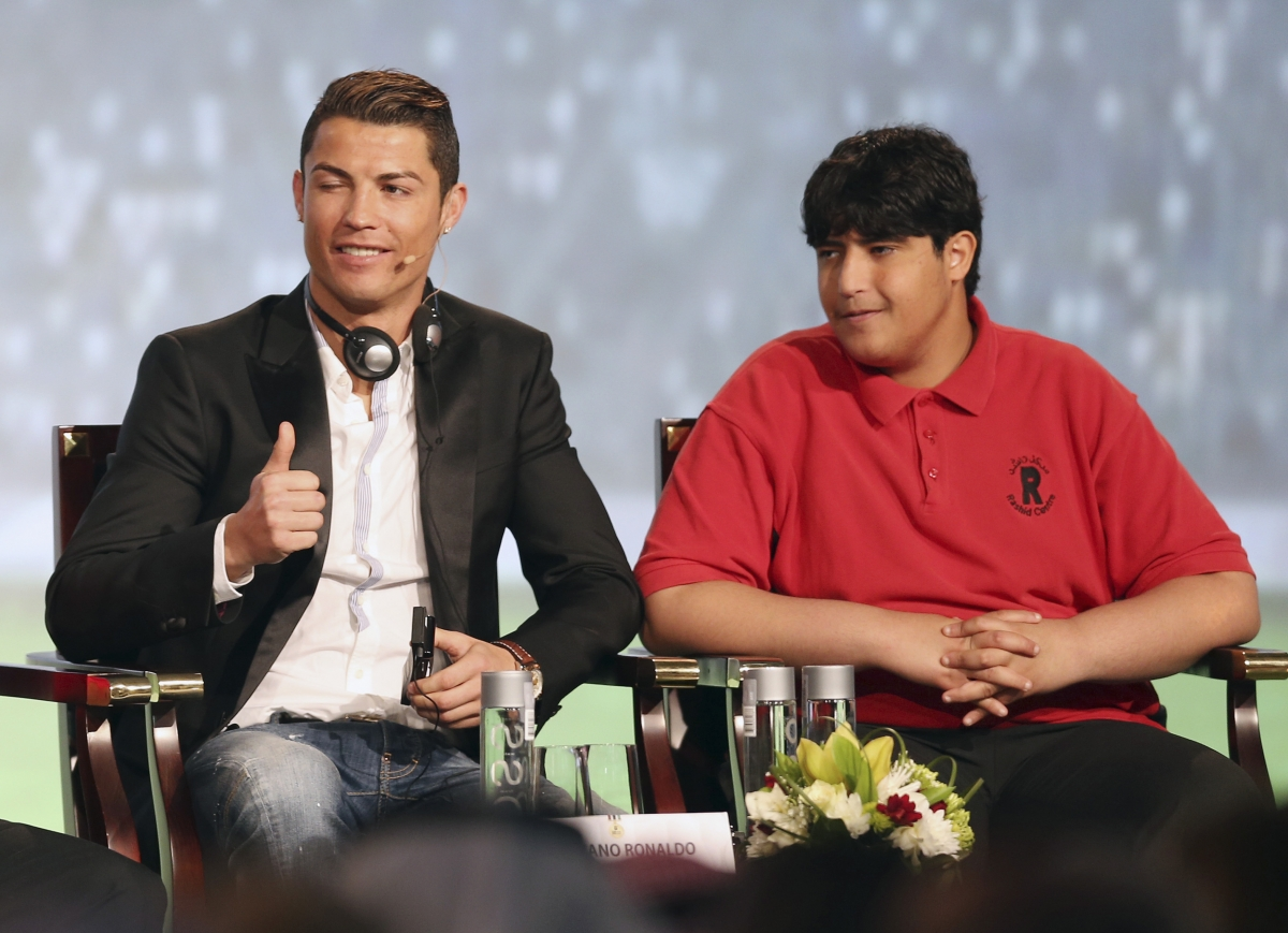 The wink of Cristiano Ronaldo, which infuriated England fans after he was awarded a penalty during the 2006 World Cup.