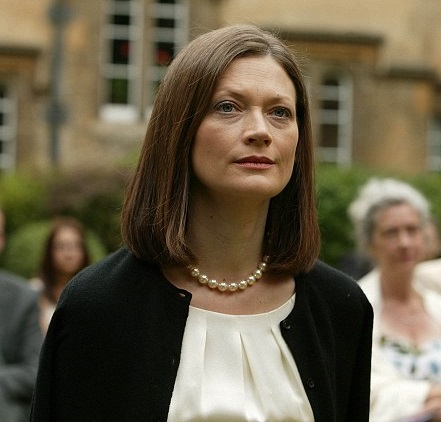 Actress Sophie Ward in the ITV detective series Lewis.