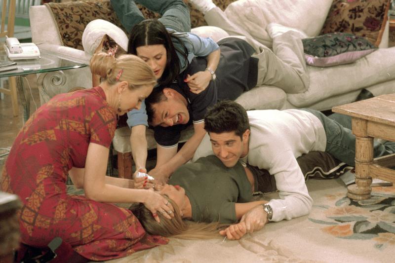 Friends 2014 reunion episode a hoax?