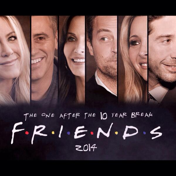 Fan-made poster of Friends reunion episode