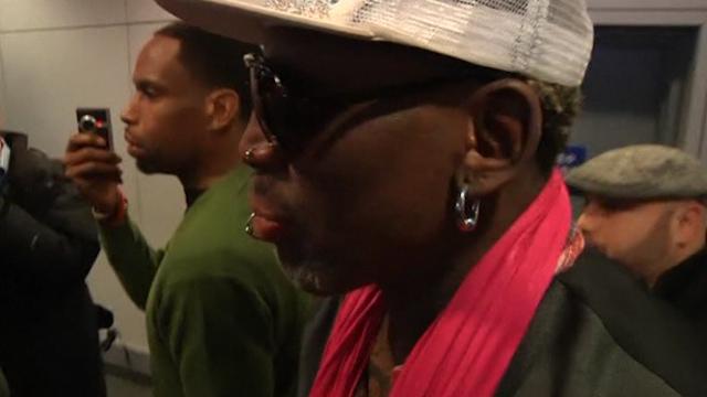 Rodman and Ex-NBA Stars Set for North Korea Game
