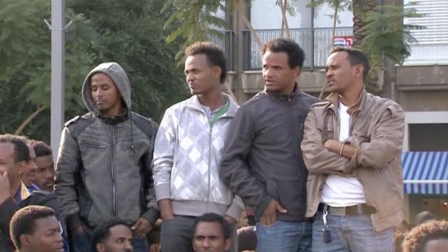 Thousands of African Migrants Protest in Tel Aviv