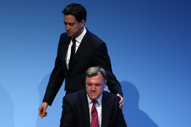 Ed Balls and Ed Miliband