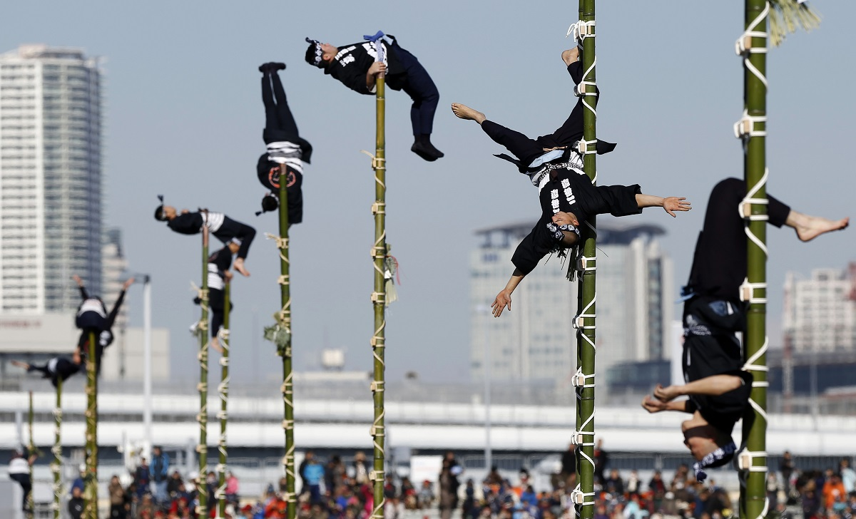 bamboo firemen