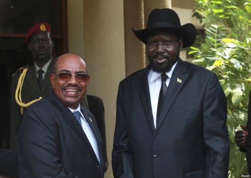 Omar al-Bashir and Salva Kiir