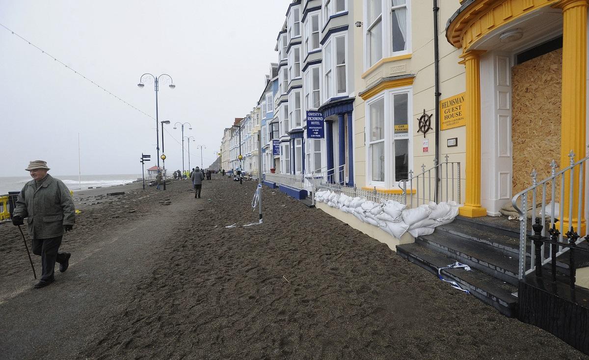 Aberystwyth sand