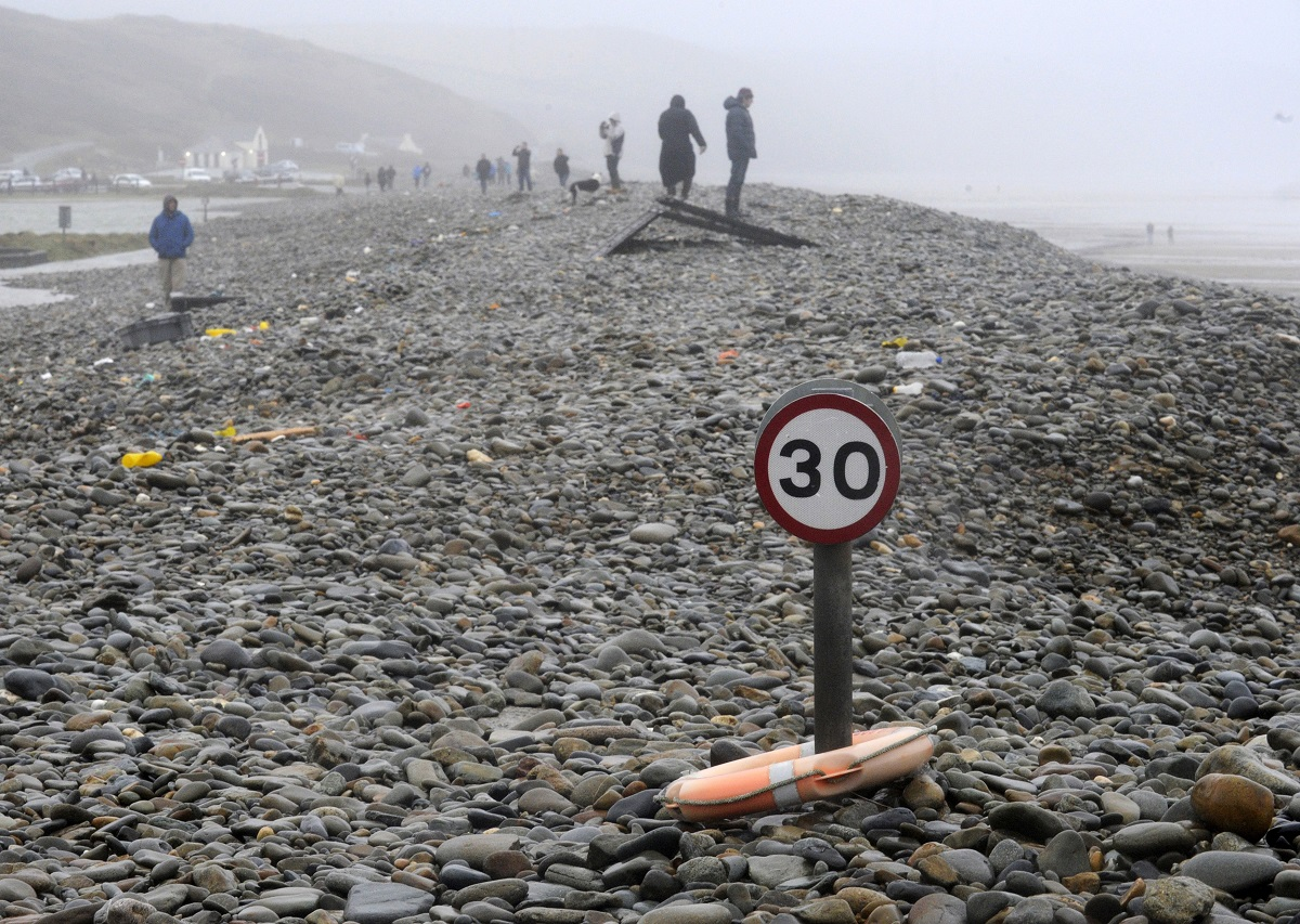 Wales pebbles