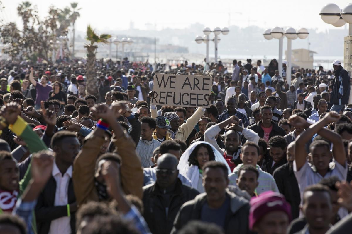 Tel Aviv Migrant protest