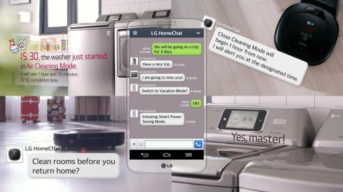 LG HomeChat