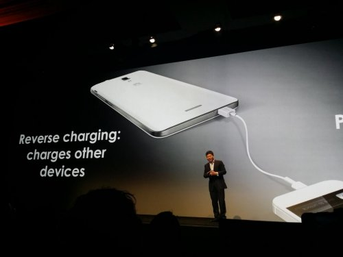 Huawei Reverse charging Ascend Mate 2