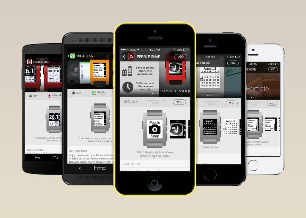 Pebble Steel App Store
