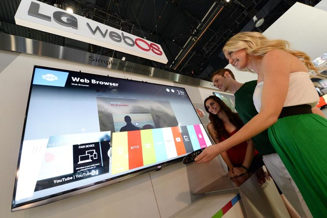 LG WebOS Smart Televisions