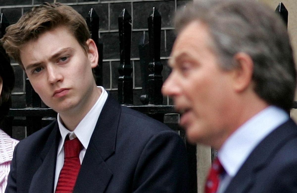 Euan and Tony Blair