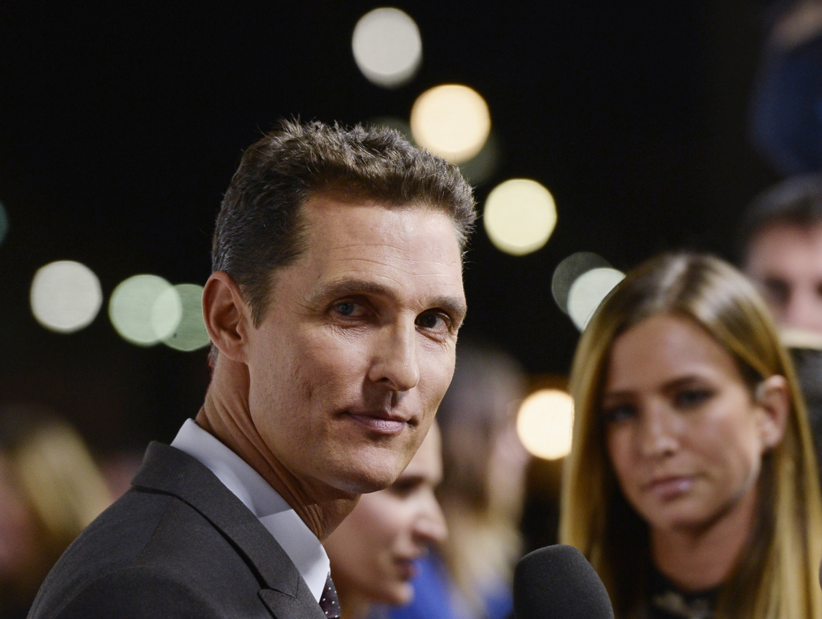 Matthew McConaughey talks about upcoming film interstellar