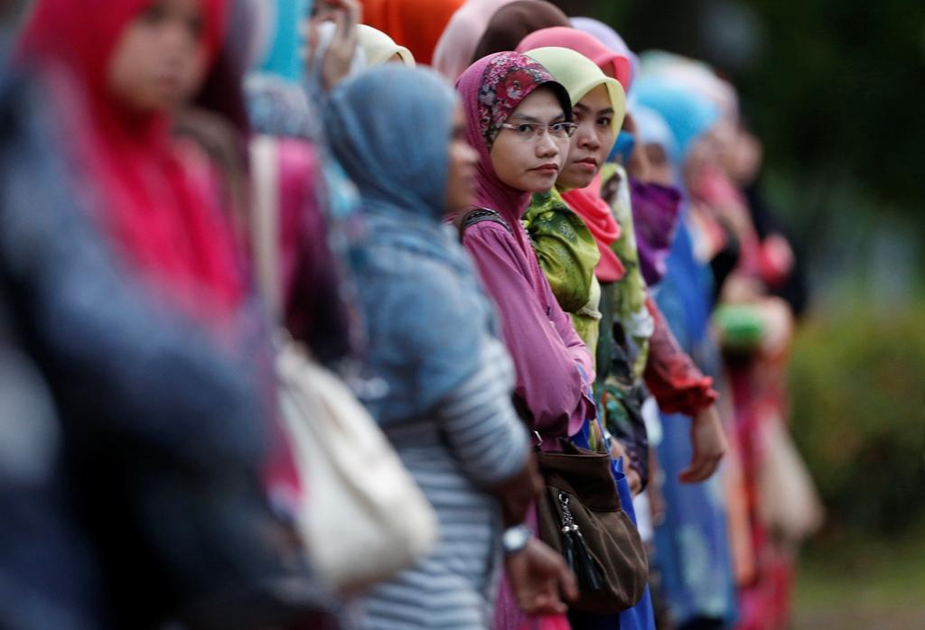 Malay Women in Kuala Lumpur Malaysia