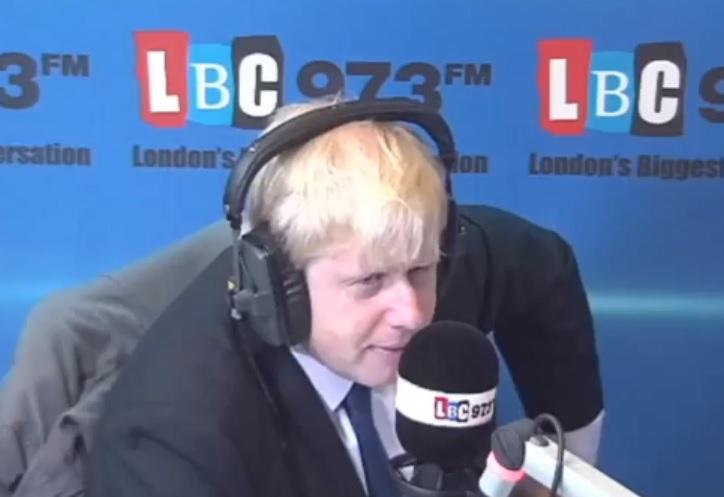 Boris Johnson responded after BBC show Sherlock lampooned the London Mayor