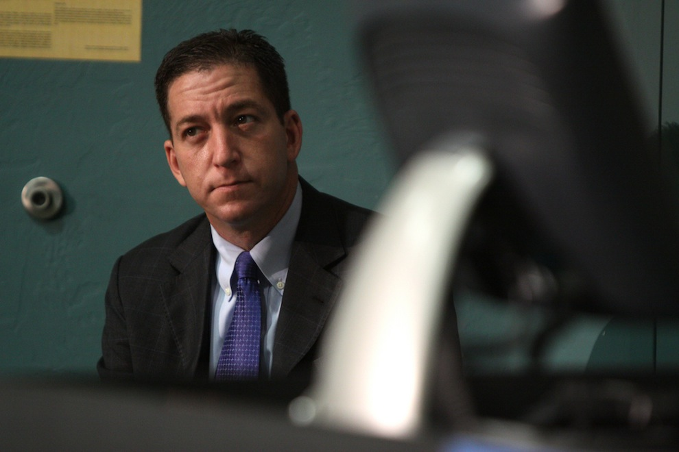 US Military Blocks Glenn Greenwald's Website The Intercept