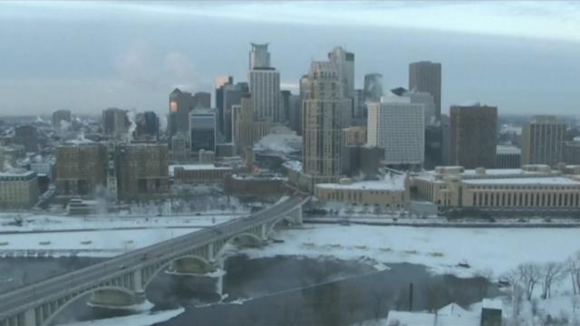 Frigid Artic Air Grips U.S. Midwest