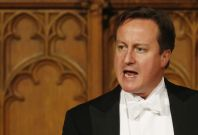 Prime Minister David Cameron at Lord Mayor\'s Banquet