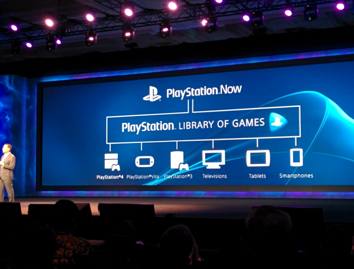 PlayStation Now Cloud Gaming Service