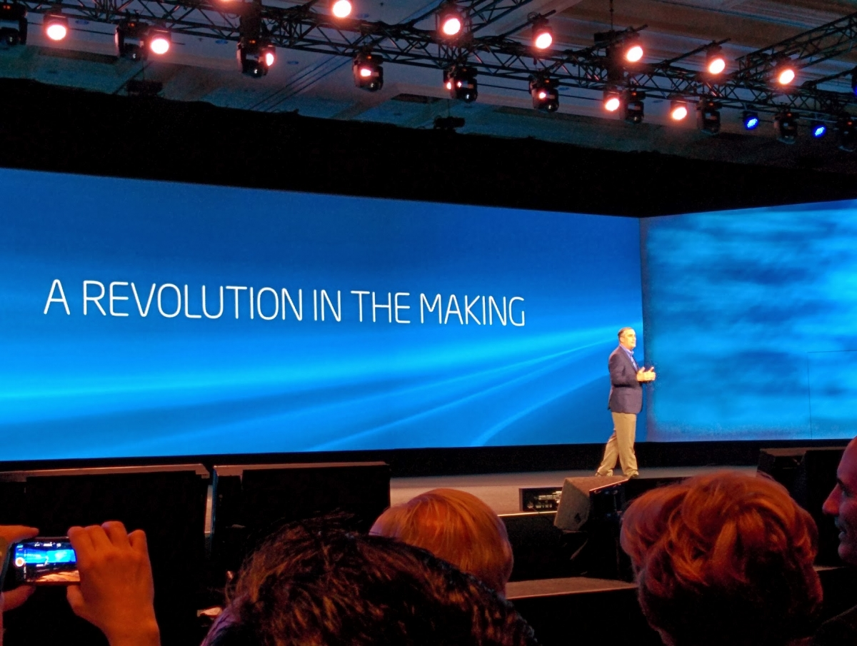 Intel CEO Brian Krzanich CES 2014