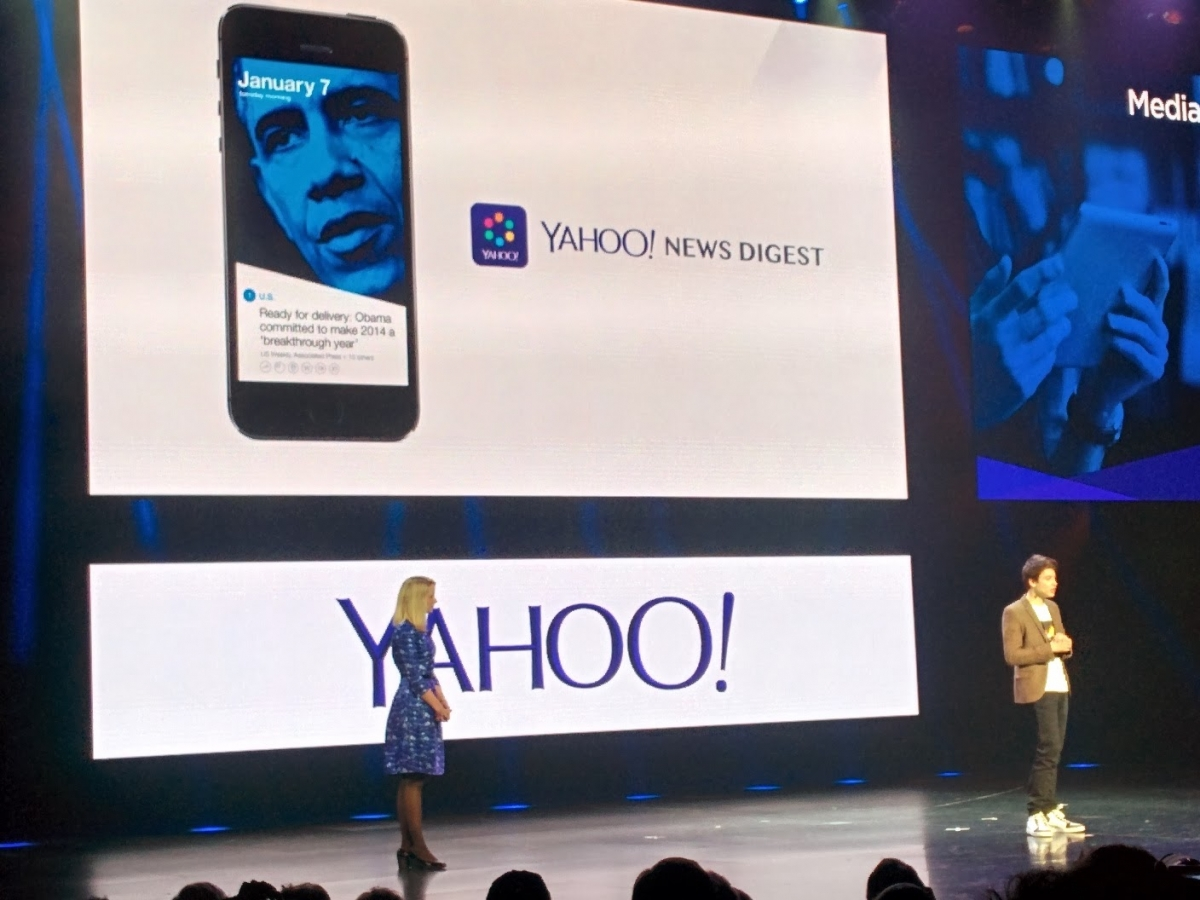 Nick D'Aloisio launches Yahoo's News Digest app