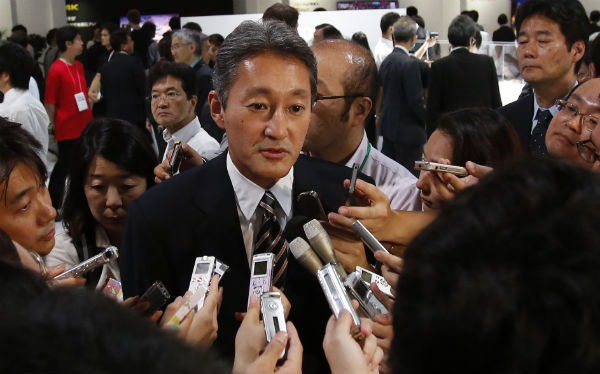 Sony CEO Kaz Hirai at CES 2014