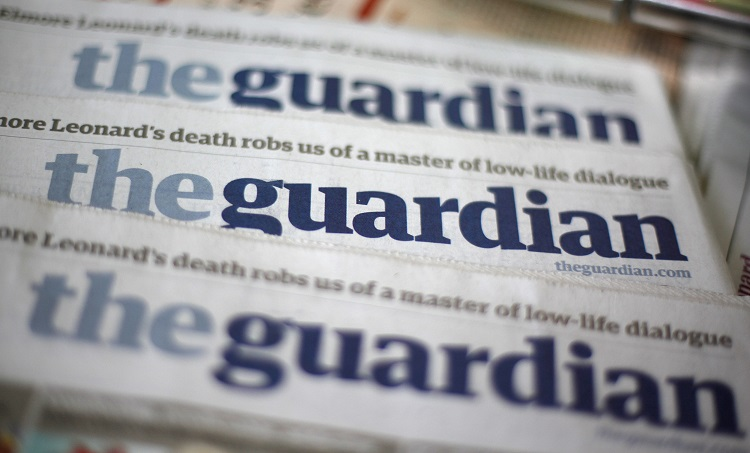 UK's Guardian Website Blocked in China Says Censorship Tracking Group Greatfire