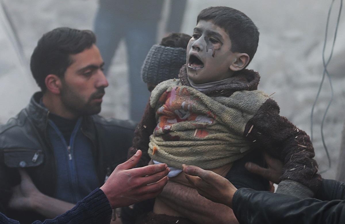 Syria bomb boy