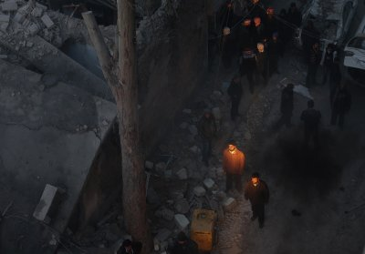 syria lights