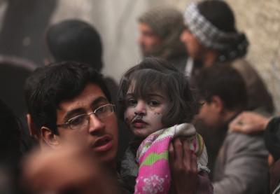 syria girl survive