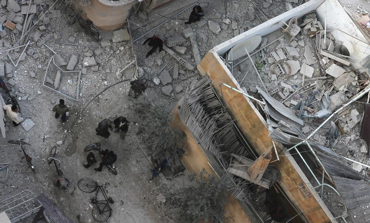 syria aerial