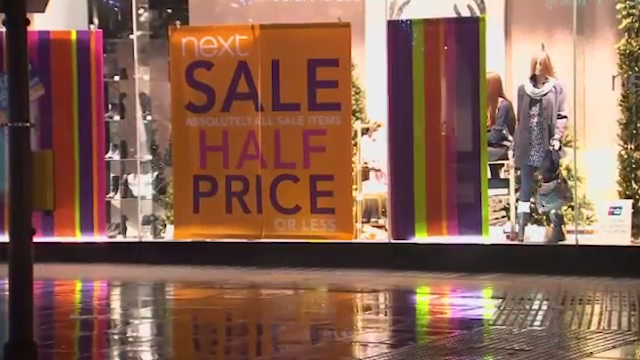 UK Retailer Pre-Christmas Price Slash at 7-Year High