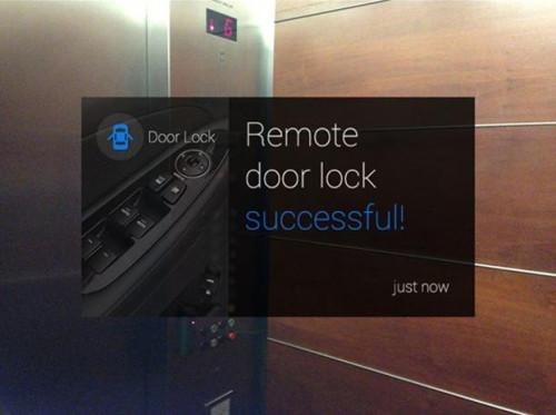Hyundai Google Glass app