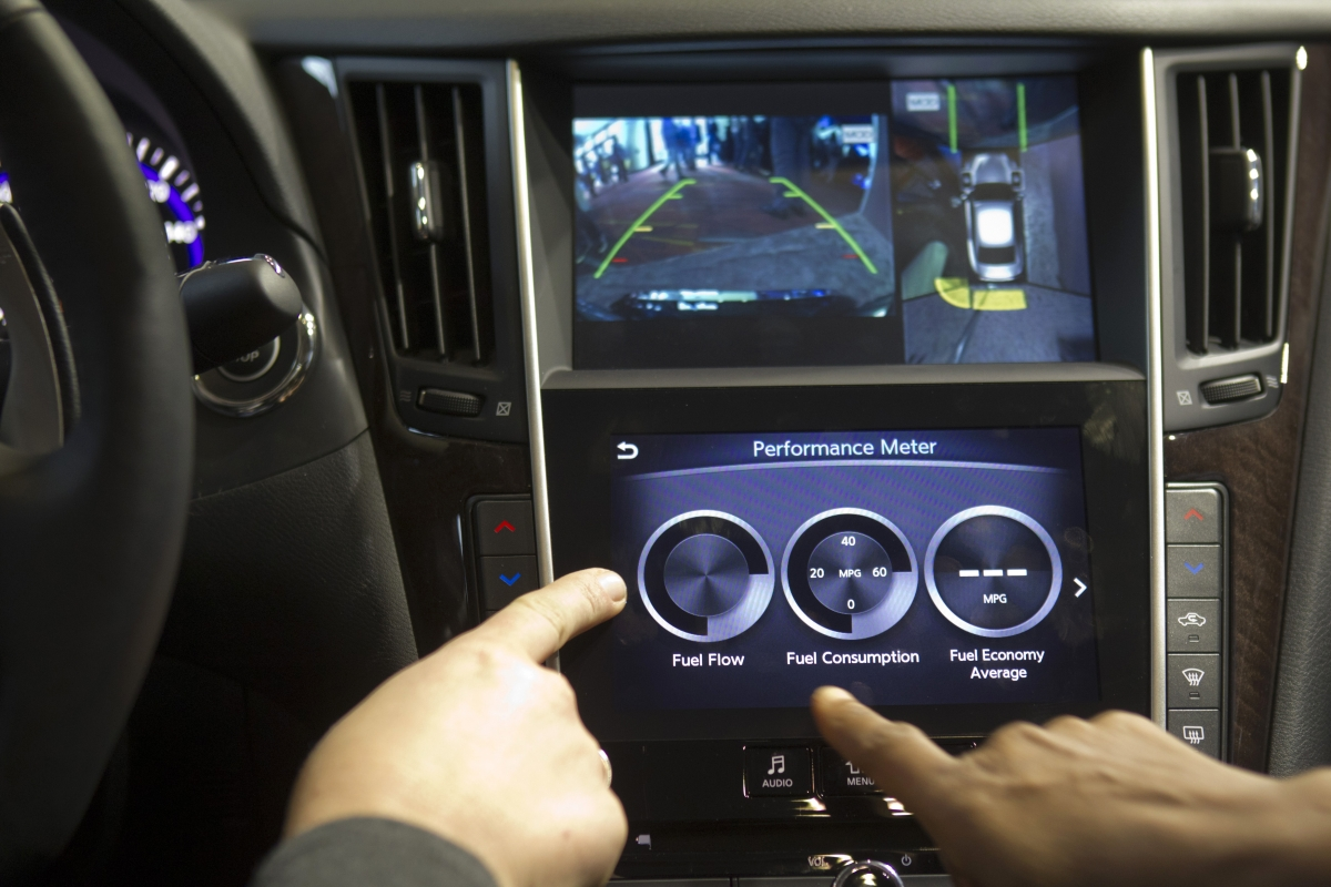 Cars at CES 2014